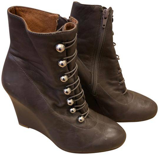 Preload https://img-static.tradesy.com/item/24432105/pour-la-victoire-brown-leather-wedge-bootsbooties-size-us-8-regular-m-b-0-1-540-540.jpg