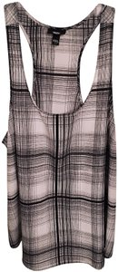 Mossimo Supply Co. Plaid Target Top Black & White