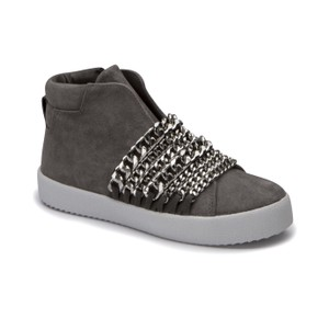 Kendall + Kylie gray suede Athletic