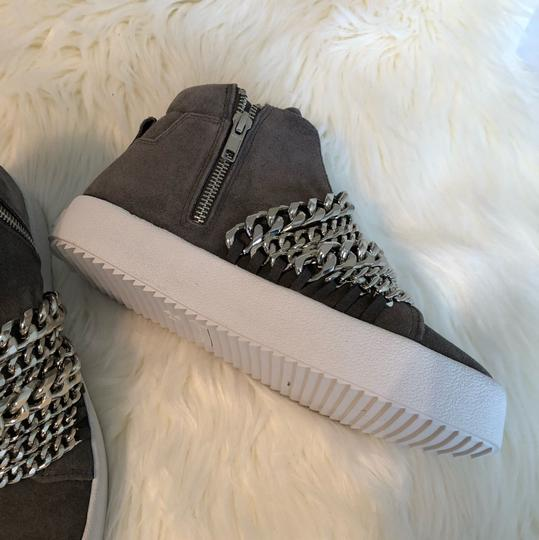 Kendall + Kylie gray suede Athletic Image 7