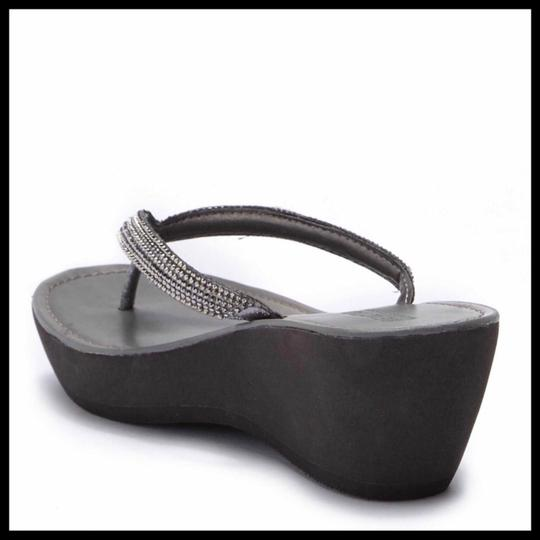 Kenneth Cole Reaction Grey, Silver Sandals Image 2