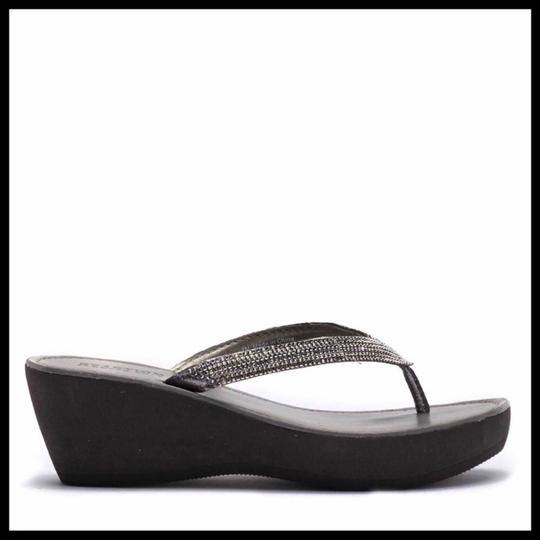 Kenneth Cole Reaction Grey, Silver Sandals Image 4