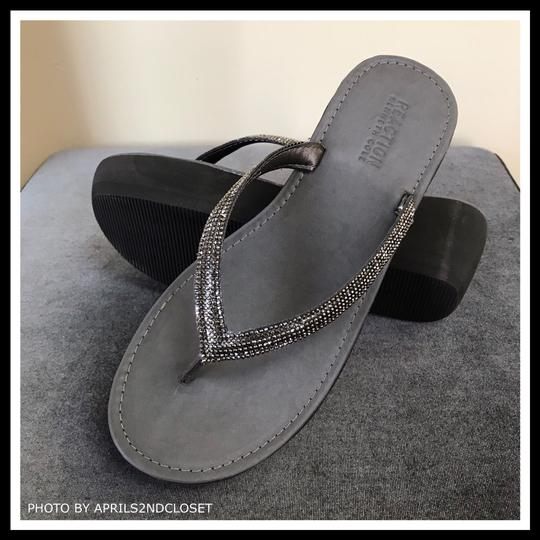 Kenneth Cole Reaction Grey, Silver Sandals Image 5