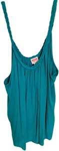 Mossimo Supply Co. Braided Target Top Turquoise