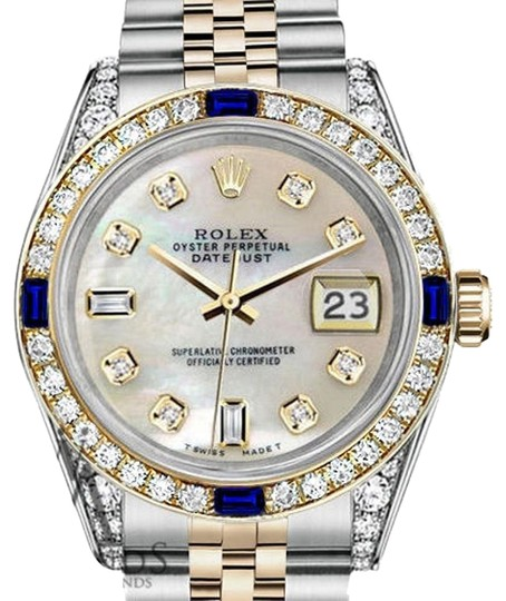 Preload https://img-static.tradesy.com/item/24432163/rolex-ladies-26mmdatejust-whitemop-dial-sapphire-diamond-bezel-watch-0-1-540-540.jpg