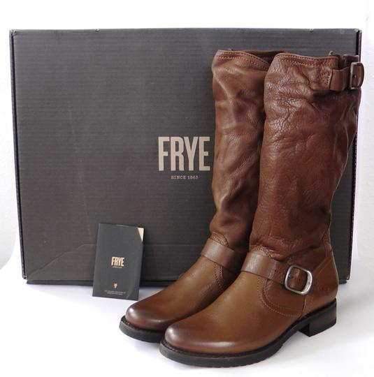 Frye Slouch Vintage COGNAC/ Brown Boots Image 1