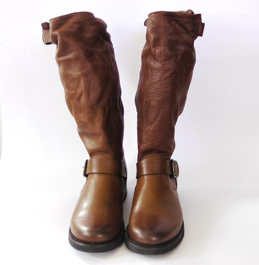 Frye Slouch Vintage COGNAC/ Brown Boots Image 3