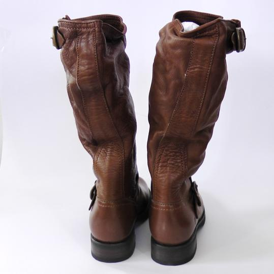 Frye Slouch Vintage COGNAC/ Brown Boots Image 4