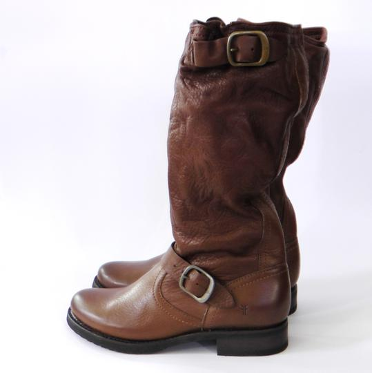 Frye Slouch Vintage COGNAC/ Brown Boots Image 5
