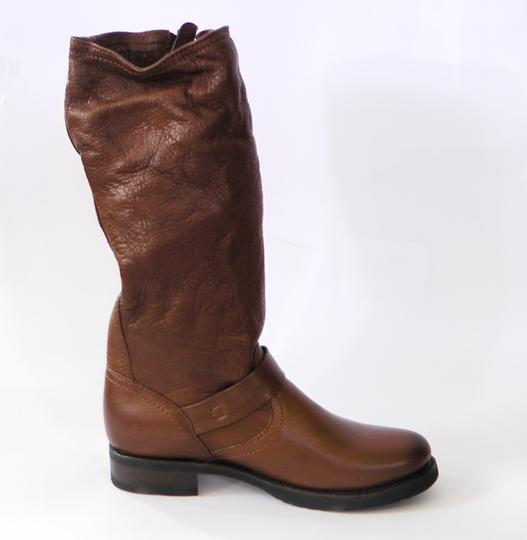 Frye Slouch Vintage COGNAC/ Brown Boots Image 6