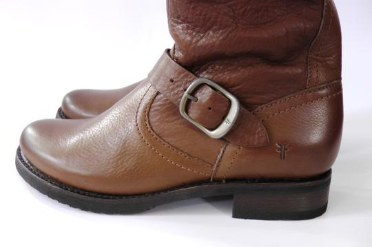 Frye Slouch Vintage COGNAC/ Brown Boots Image 7