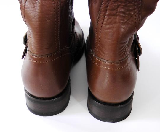 Frye Slouch Vintage COGNAC/ Brown Boots Image 9