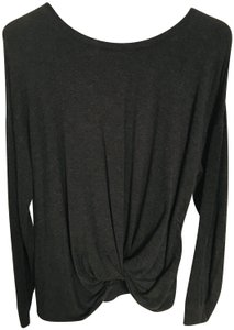 A New Day Twisted Front Long Sleeve Sweater