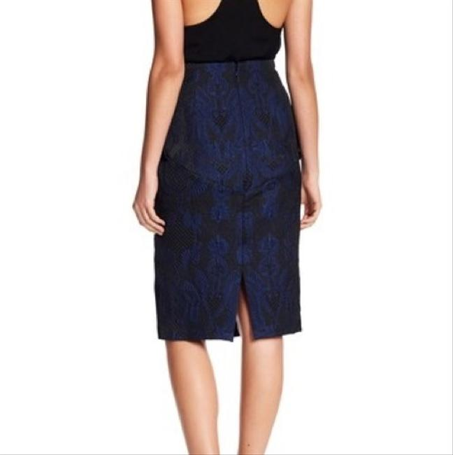 Kendall + Kylie Skirt Black and Blue Image 1