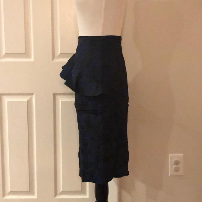 Kendall + Kylie Skirt Black and Blue Image 5