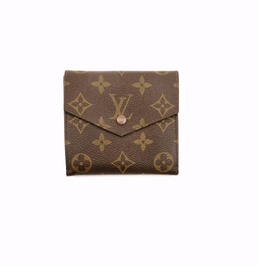 Preload https://img-static.tradesy.com/item/24432272/louis-vuitton-brown-vintage-monogram-canvas-leather-trifold-compact-clutch-france-wallet-0-0-540-540.jpg