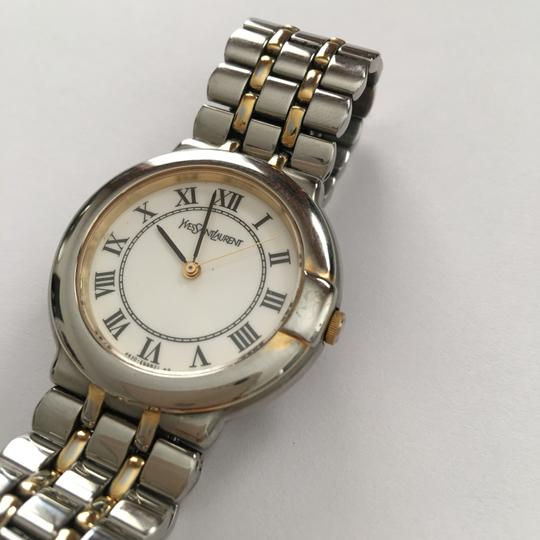 Saint Laurent Two-Tone Stainless Base Watch Image 1