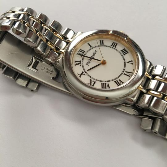 Saint Laurent Two-Tone Stainless Base Watch Image 2