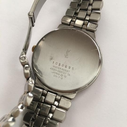 Saint Laurent Two-Tone Stainless Base Watch Image 3