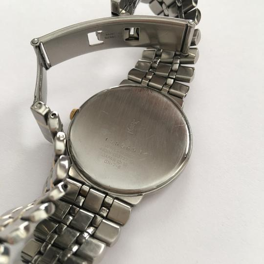 Saint Laurent Two-Tone Stainless Base Watch Image 4