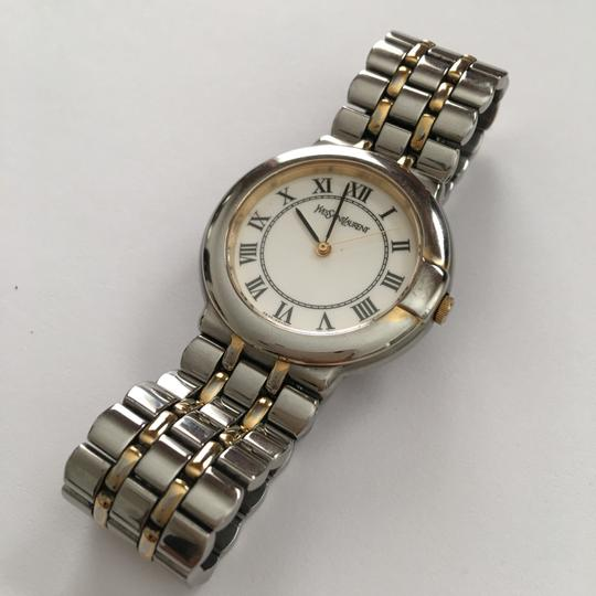 Saint Laurent Two-Tone Stainless Base Watch Image 8
