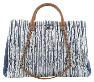 Chanel Denim Tote in Blue