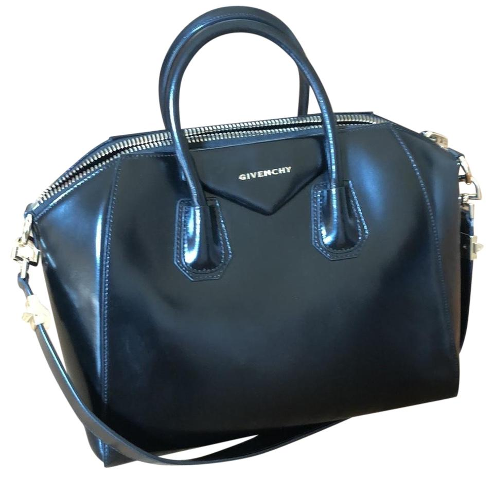 16fbbb6c6f1b Givenchy Antigona Satchel Black Smooth Leather Tote - Tradesy