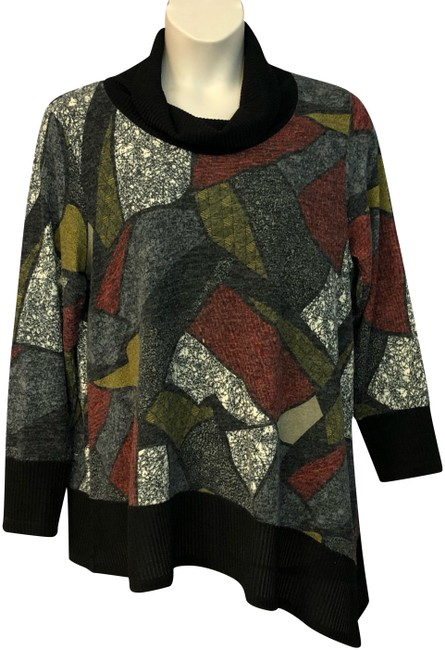 Preload https://img-static.tradesy.com/item/24432500/inc-cowl-neck-printed-knit-multicolor-sweater-0-2-650-650.jpg