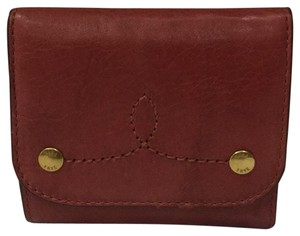 Frye Melissa Medium Campus Rivet Leather Wallet
