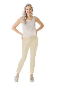 Peace of Cloth Straight Pants Ivory Shell