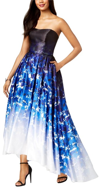 Preload https://img-static.tradesy.com/item/24432579/betsy-and-adam-bluemulti-ombre-printed-strapless-ballgown-bluemulti-long-formal-dress-size-4-s-0-1-650-650.jpg