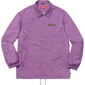 Supreme Coach Logo Purple Gonz Violet Jacket 12d5e4ba8