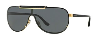 Versace New Shield Retro Style MOD 2140 1002/87 Free 3 Day Shipping