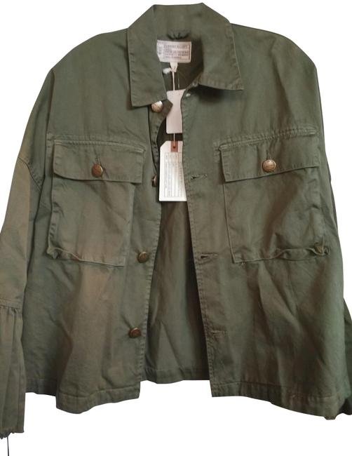 Item - Army Green Oversized Current/Elliot Jacket Size 2 (XS)