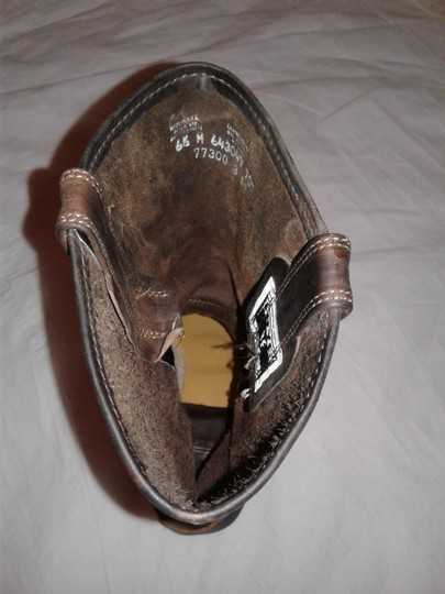 Frye Made In Usa Ankle Strap O-ring Studs Motorcycle Tan Boots Image 11