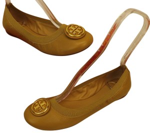 Tory Burch Yellow Flats