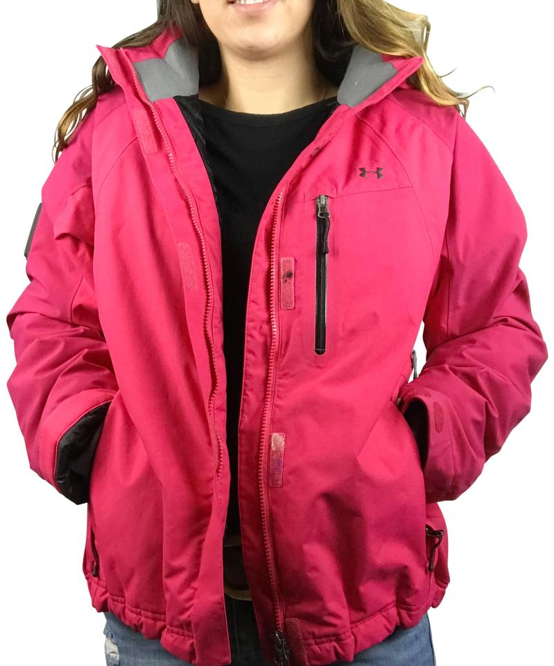 e6ab831ba Under Armour Pink Winter Jacket Recco Certified Coat Size 12 (L) 47% off  retail