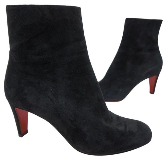 Preload https://img-static.tradesy.com/item/24433672/christian-louboutin-black-top-70-suede-red-sole-ankle-bootsbooties-size-eu-38-approx-us-8-regular-m-0-1-540-540.jpg