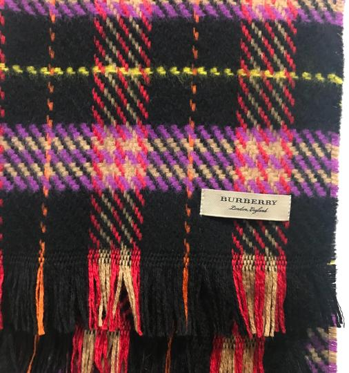 Burberry Burberry Check Wool Scarf
