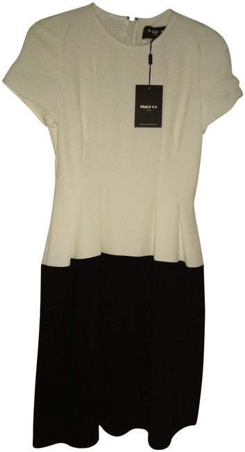 Preload https://img-static.tradesy.com/item/24433777/paule-ka-black-white-36-2-made-in-france-two-mid-length-night-out-dress-size-2-xs-0-1-650-650.jpg