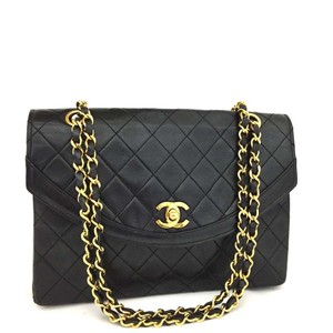 Chanel Lambskin Caviar Lambskin Vintage Shoulder Bag