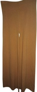Ryan Roche Wide Leg Pants Camel tan