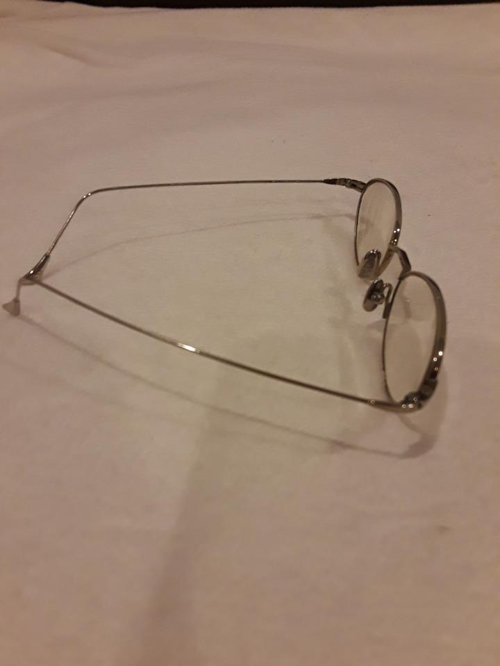 3c739de9cc5 Donna Karan Silver Small Prescription Glasses - Tradesy