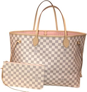 Louis Vuitton Neverfull Gm Neverfull With Pouch Neverfull Gm Neverfull Pink Tote in Rose Ballerine