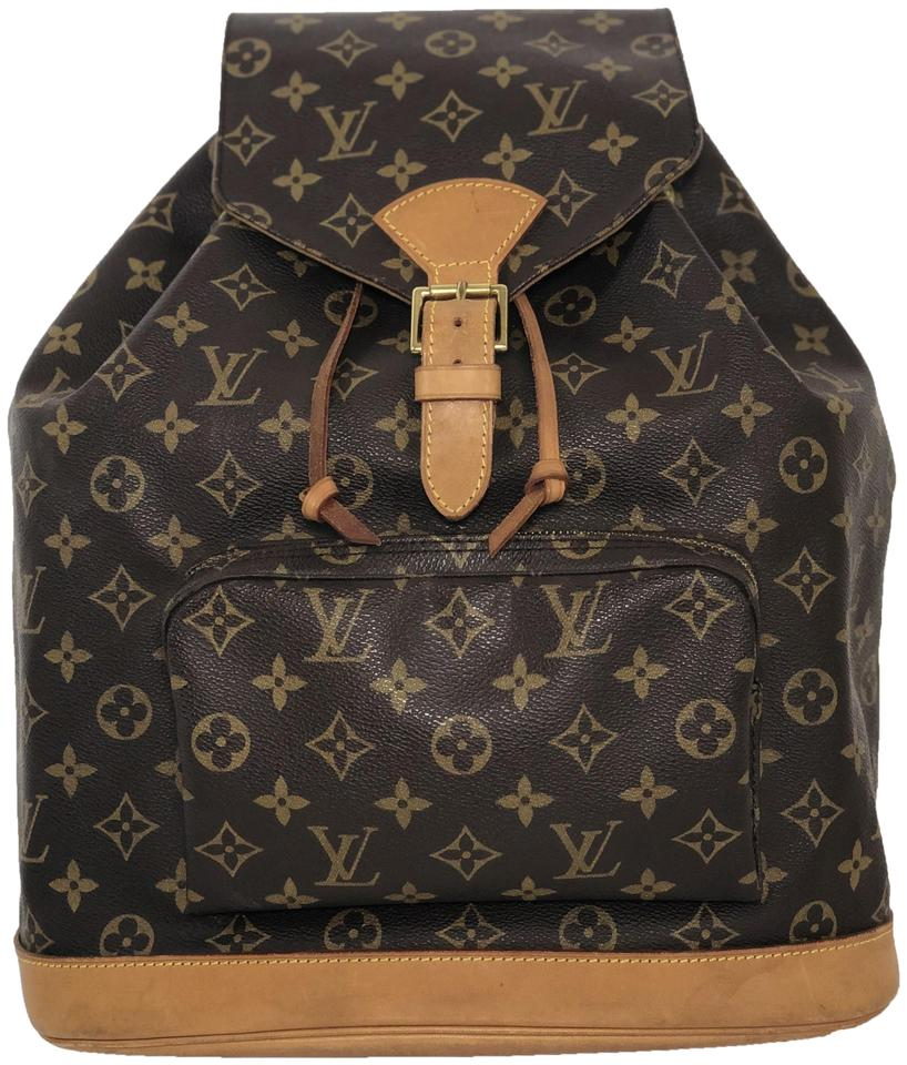 307d7a0c1ac3 Louis Vuitton Lv Montsouris Montsouris Gm Monogram Shoulder Backpack ...