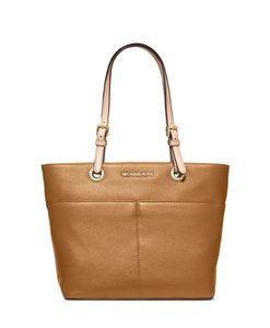 d486847cdd61 Michael Kors Leather Soft Pink 30h4gbft6l-187 Tote in brown