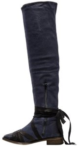 Free People Navy, Blue, Black Boots