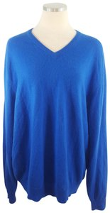 Club Room V-neck Oversized Slouchy Cashmere Sweater