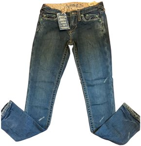 Stitch's Skinny Jeans-Distressed