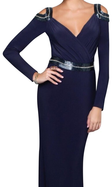Item - Exquisite Sleeve Evening Long Formal Dress Size 6 (S)